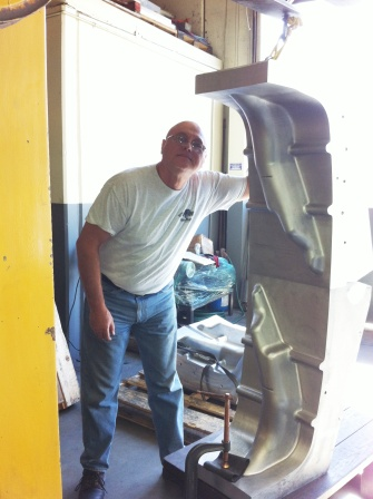 Giant Tire Mold & parts machining