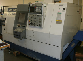 Smaller Machines - Mori Seiki ZL15-S 1-3/4 Max Bar 6``Max dia